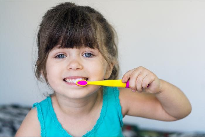 歯も磨ける