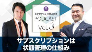 仕組み経営Podcastvol3サブスクは状態管理の仕組み