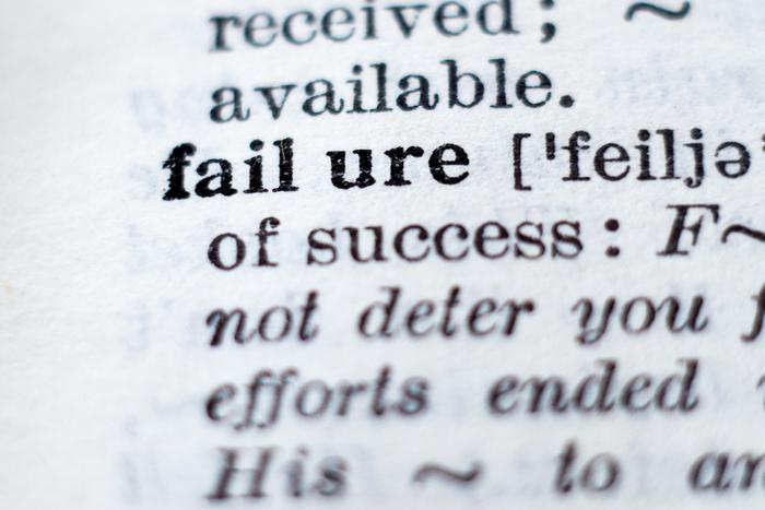 失敗の定義