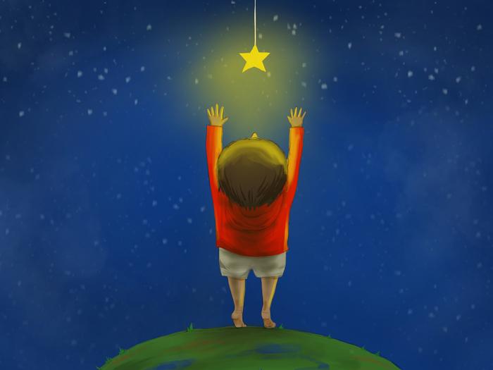 夢や目標は小さく考えよう