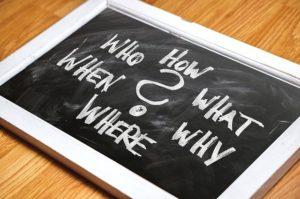 行動を絞るための質問とは?